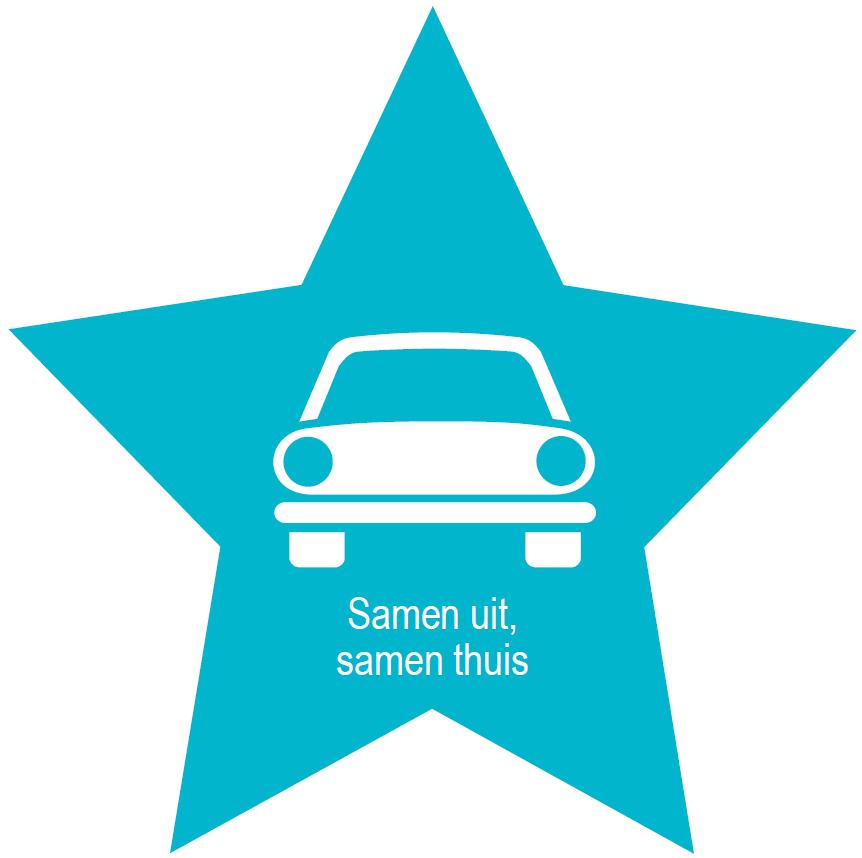Promoot je alternatief vervoer voor de bezoekers van je event (taxilijst, feestbus, car-/fietspool service,  …) ?